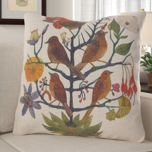 Coutu Natural Garden Throw Pillow
