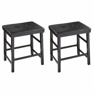 Makowski Accent Stool (Set of 2) by Winston Porter