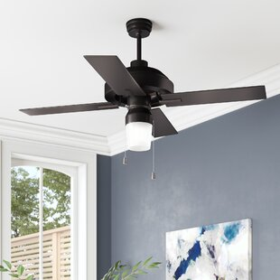 52 Fagundes 4 Blade Outdoor Ceiling Fan