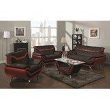 Windridge 3 Piece Living Room Set by Orren Ellis