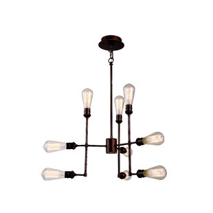 Trent Austin Design Grassy Ridge 9-Light Sputnik Chandelier