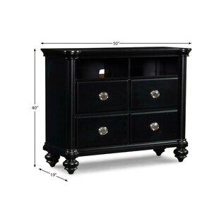 Brandy 4 Drawer Media Chest Klaussner Furniture