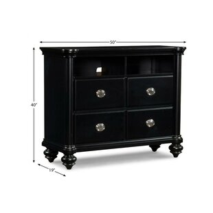 Maner 4 Drawer Media Chest by Charlton Home Design
