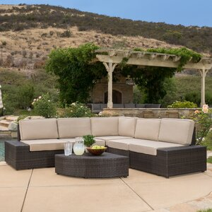 Damiano 6 Piece Seating Group with Cushions