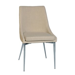 Latitude Run Kersten Upholstered Dining Chair (Set of 2)