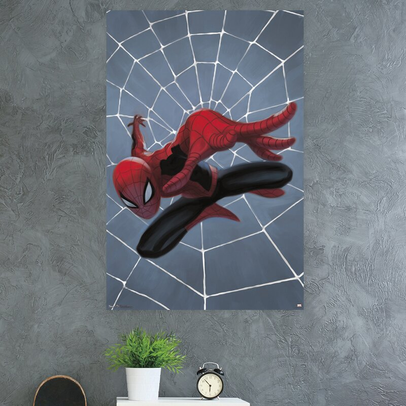 Print Spiderman Kids Room GLOSSY Photo Picture ** PERSONALIZED ** Wall Decor