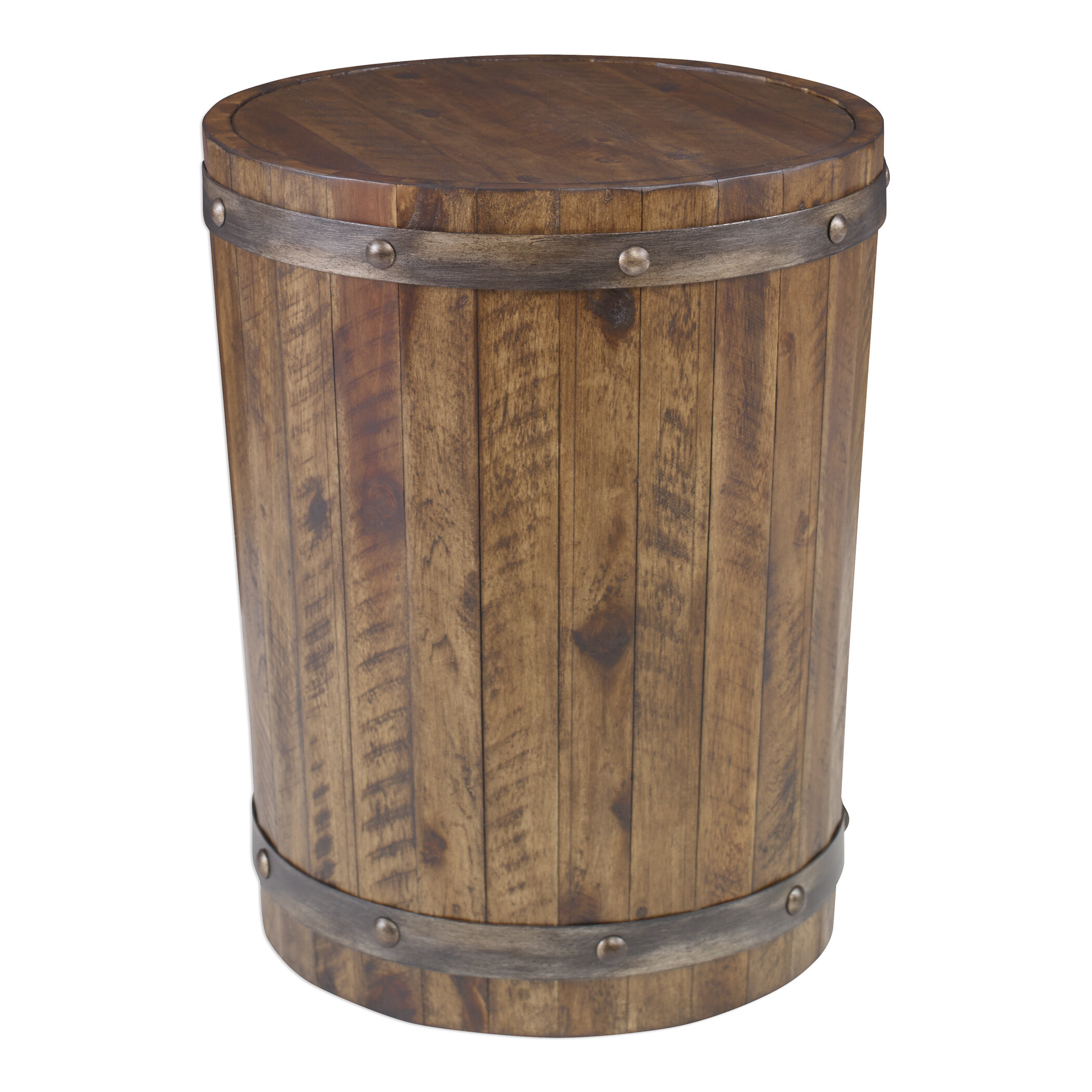 Incredible Berkshire Wine Barrel End Table Download Free Architecture Designs Scobabritishbridgeorg