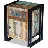Radnor 1 - Drawer Nightstand in Brown/Black by Williston Forge