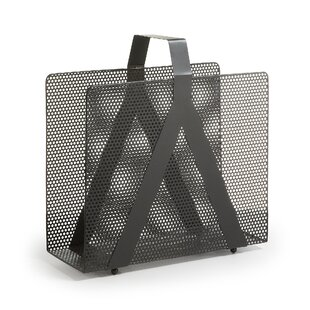 Cozad Punched Metal Magazine Rack By Rebrilliant
