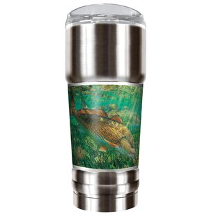Mark Susinno's Red Drum 32 oz. Stainless Steel Travel Tumbler