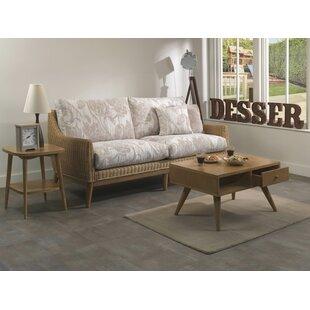 Buy Sale Avalynn 3 Piece Conservatory Sofa Set