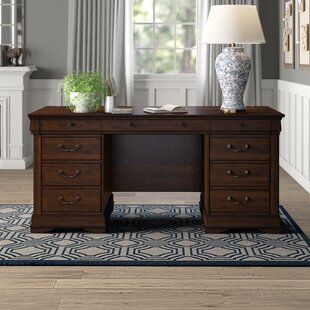 Grunewald Solid Wood Executive Desk