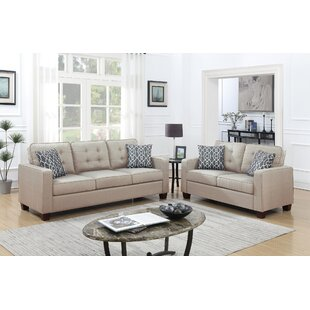 Compare prices Seddon 2 Piece Living Room Set by Red Barrel Studio Reviews (2019) & Buyer's Guide
