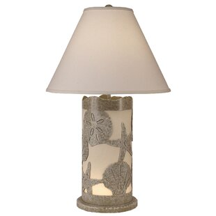Reviews Hwang Multi Shell Scene Panel 30 Table Lamp By Highland Dunes