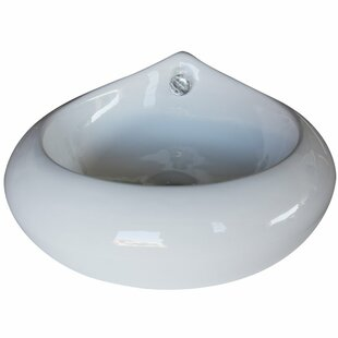 Arsumo Ceramic Specialty Vessel Bathroom Sink