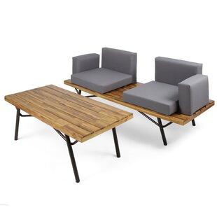 Modern Contemporary Acacia Wood Outdoor Furniture Allmodern