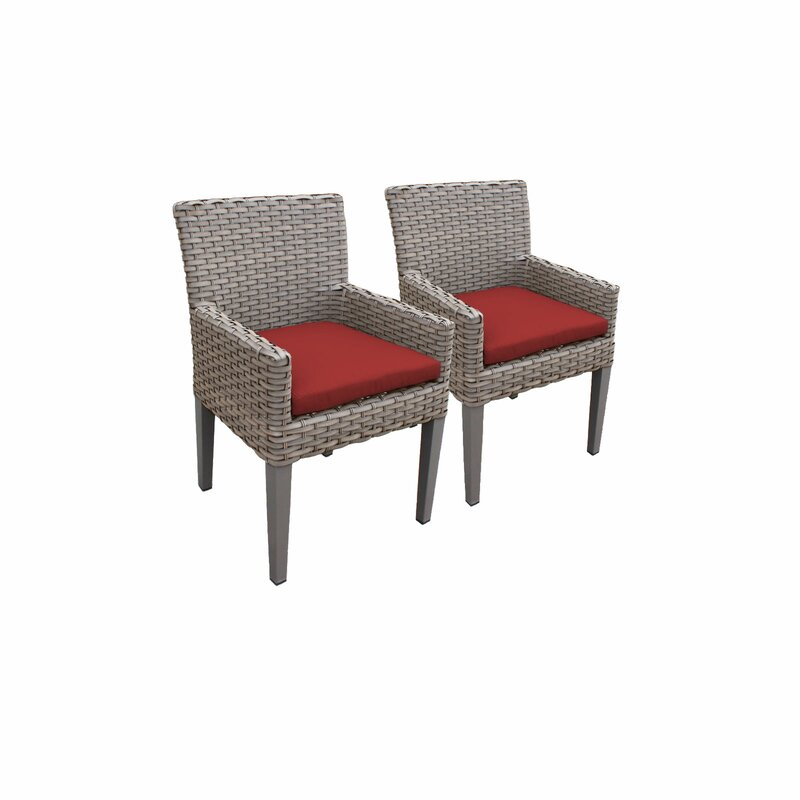 Sol 72 Outdoor  Rockport Patio Dining Chair with Cushion
