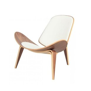 Corrigan Studio Evelynn Half Moon Lounge Chair