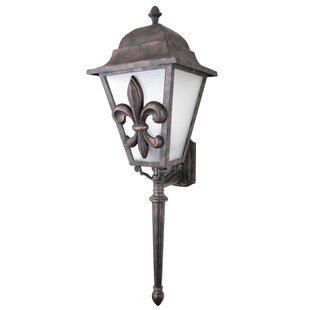 Order Penfield 3-Light Outdoor Sconce By Alcott Hill