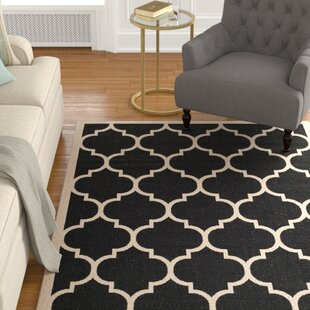 Larson Black/Beige Indoor/Outdoor Indoor Area Rug