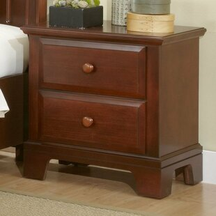 Darby Home Co Cedar Drive 2 Drawer Nightstand
