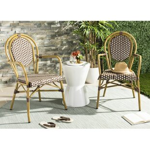 Moon Lake Stacking Garden Chair (Set Of 2) By Beachcrest Home