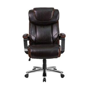 Latitude Run Ash High-Back Executive Chair