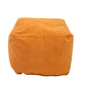Gold Medal Bean Bags Medium Corduroy Ottoman