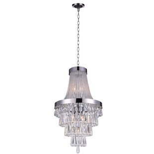 CWI Lighting Vast 6-Light Empire Chandelier