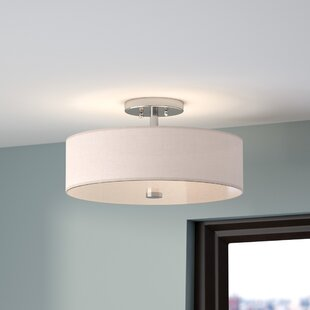Alina 3-Light Semi Flush Mount..