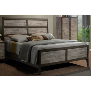 Union Rustic Rodrigues Melamine Sleigh Bed