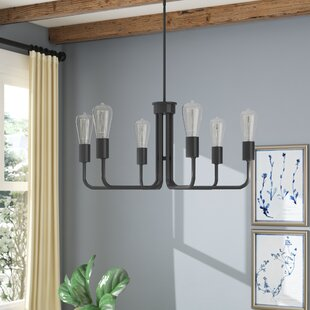 Marte 6-Light Candle Style Chandelier by Gracie Oaks