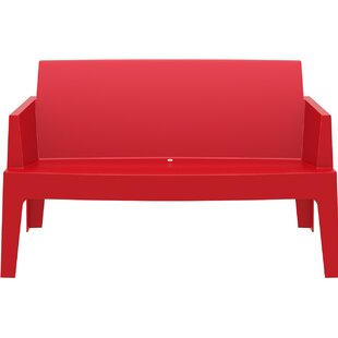 Red Outdoor Benches Youu0027ll Love | Wayfair
