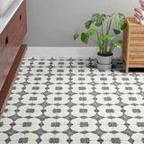 "Enchante Decorative 8"" x 8"" Porcelain Field Tile in Moderno"
