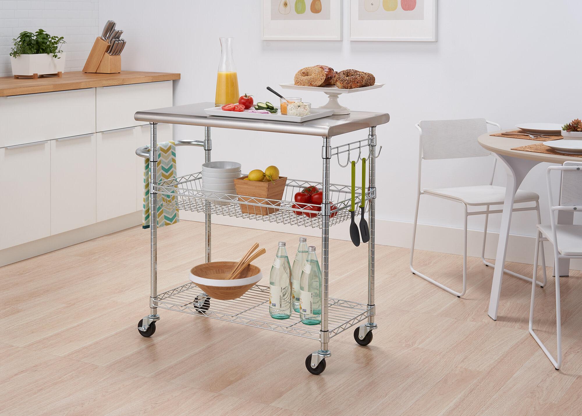 Kitchen Carts Yellow Kitchen Islands Carts You Ll Love In 2021 Wayfair