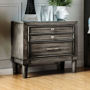 Slough 3 Drawer Nightstand by Everly Quinn