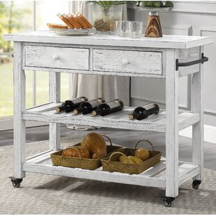 Caigan Kitchen Cart Ophelia & Co.