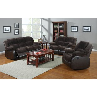 Deals Perrysburg Reclining 3 Piece Living Room Set by Winston Porter Reviews (2019) & Buyer's Guide