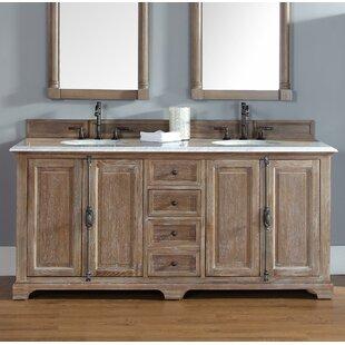 Save Greyleigh Ogallala 72 Double Bathroom Vanity Set