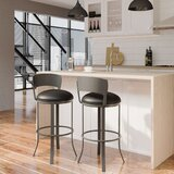 Belper Swivel Bar & Counter Stool by Winston Porter