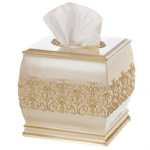 Creative Scents Shannon Square Tissue Box Cover
