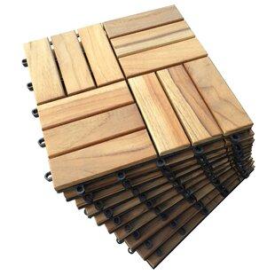 Kontiki Outdoor Wood Deck Tiles