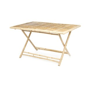 Porter Rectangle Bamboo Dining Table