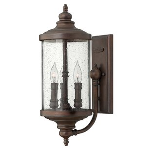 Read Reviews Barrington 3-Light Outdoor Sconce By Hinkley Lighting