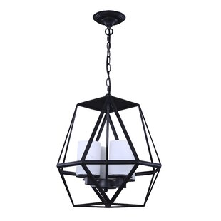 Coney Candle 4-Light Lantern Pendant by G..