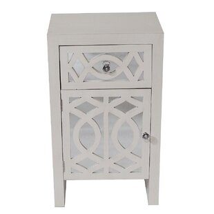 Bezout 1 Door Accent Cabinet by House of Hampton