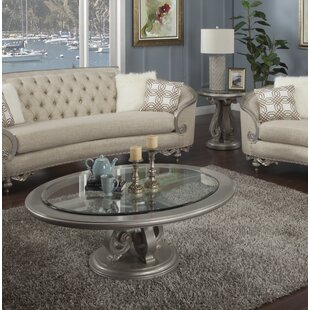 Benetti's Italia Rosabella 2 Piece Coffee Table Set