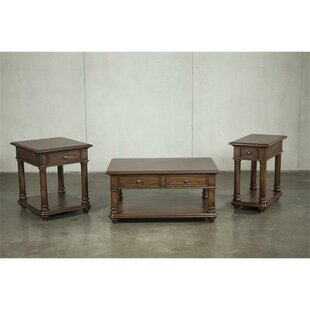 Munoz 3 Piece Coffee Table Set