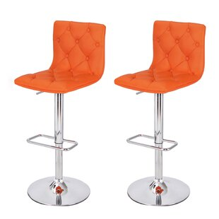 Margarites Adjustable Height Bar Stool (S..