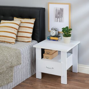 Montanez 1 Drawer Nightstand